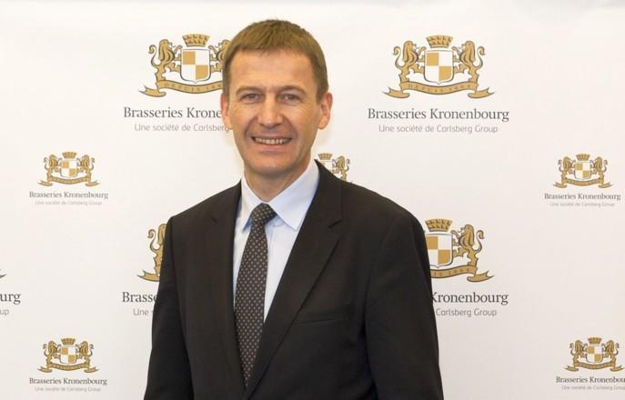 Marc Vermeulen, PDG de Kronenbourg. (Photo DR pour Rayon Boissons)