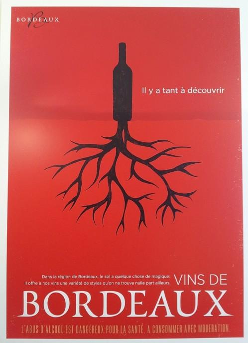 Le nouveau visuel du CIVB est censé représenter la diversité et l'accessibilité des vins de Bordeaux. (Photo Rayon Boissons)