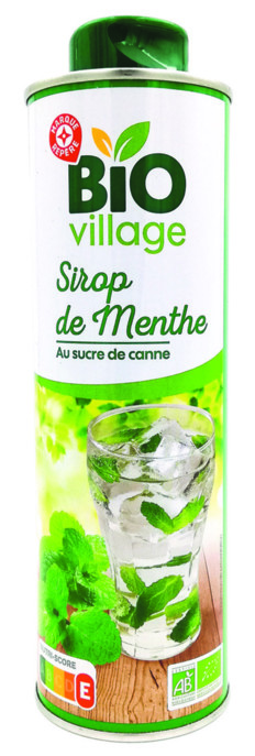 Leclerc Devance Teisseire Sur Le Sirop De Menthe Bio