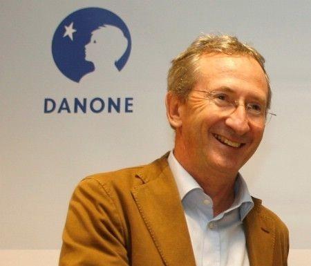« Parallèlement à la forte croissance du groupe entre 2008 et 2012, nos émissions de CO2 sont restées stables, signifiant que l'intensité carbone de nos activités a été réduite de 35% », a souligné hier Franck Riboud, PDG de Danone. (Photo DR pour Rayon Boissons)