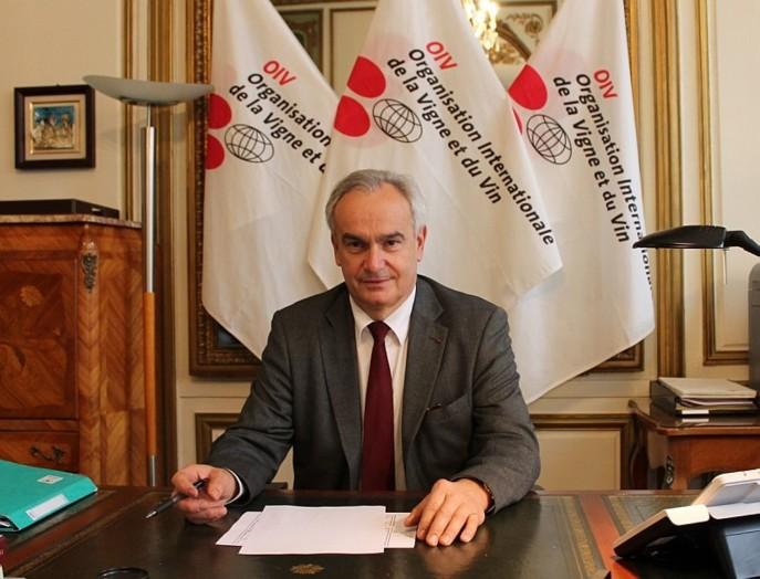 Jean-Marie Aurand, directeur général de l'OIV, estime que le solde entre la production et la consommation permet tout juste de couvrir les besoins à usages industriels. Photo OIV