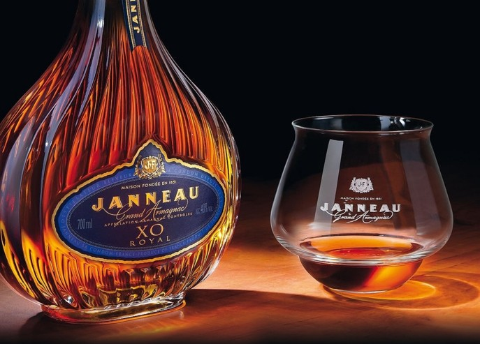 L'armagnac Janneau se positionne dans un registre premium qui correspond à la stratégie poursuivie par Spirit France. (photo DR)