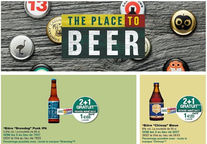 Catalogue foire à la bière Monoprix