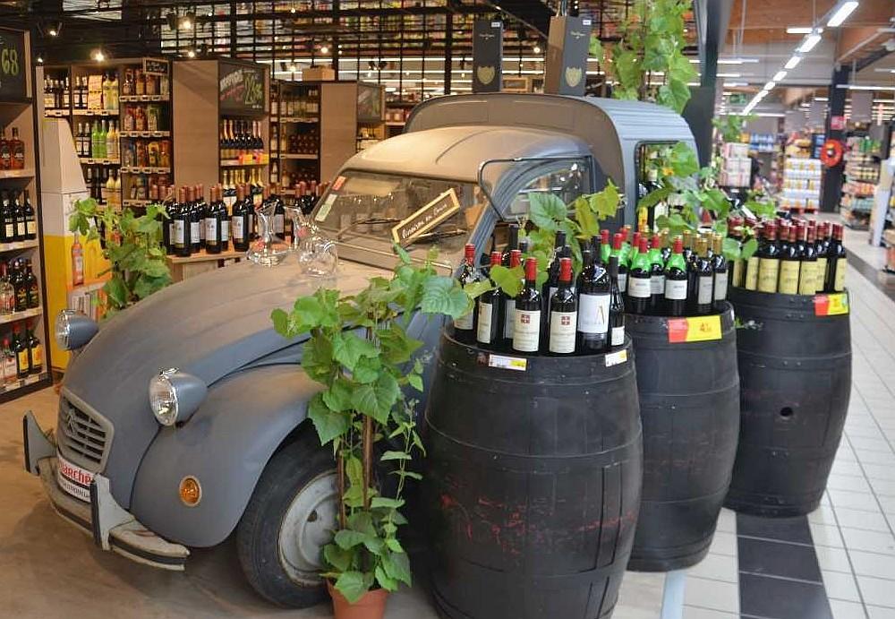 Intermarché Juillan - Photo Rayon Boissons
