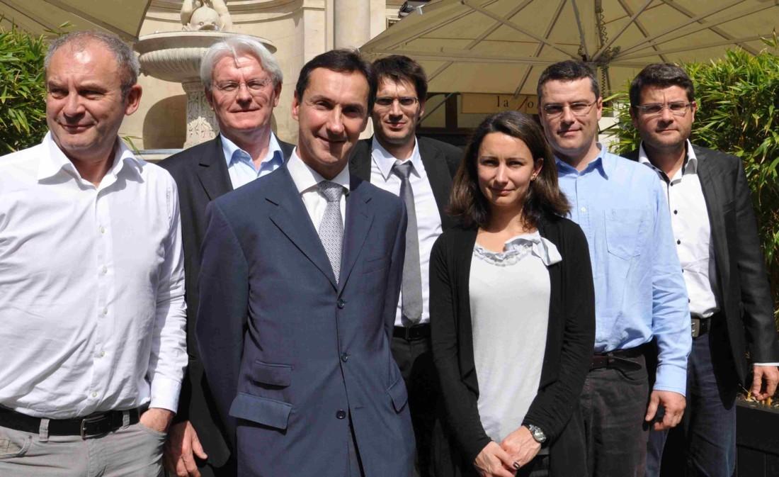 Les membres du jury des Victoires du Liège