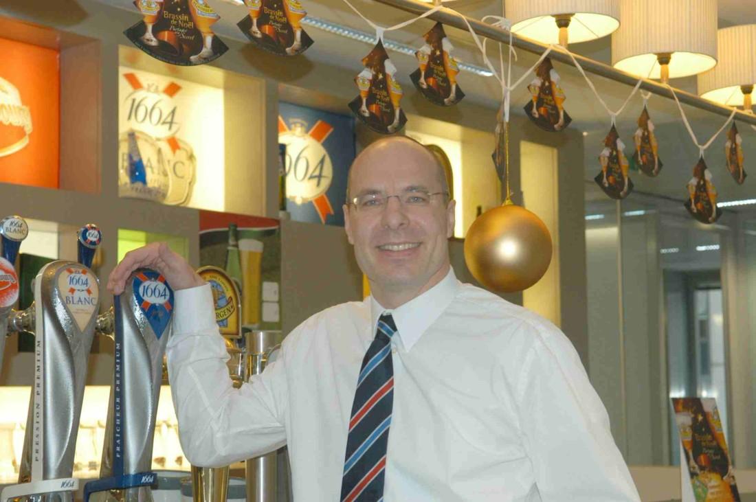Thomas Amstutz, PDG des Brasseries Kronenbourg (photo RB)